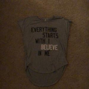 A t-shirt.
